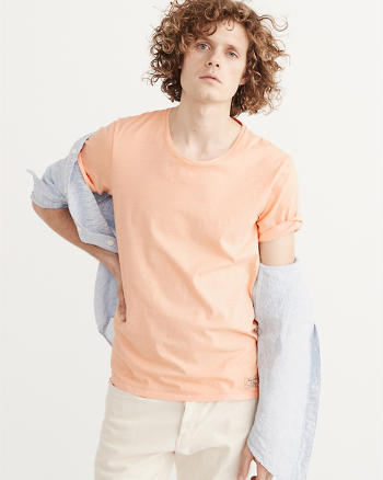 ANF Garment Dye Scoop Tee