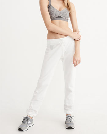 ANF Logo Banded Sweatpants