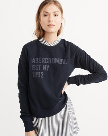 ANF Logo Graphic Sweatshirt