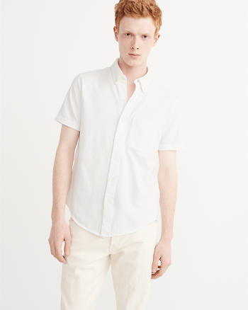 ANF Button-Up Polo