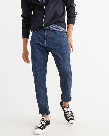 ANF Cropped Athletic Skinny Jeans