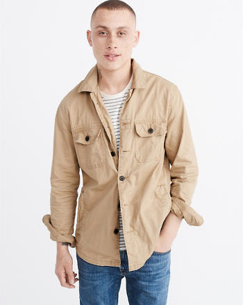 ANF Military Shirt Jacket