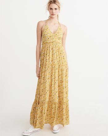 ANF Halter Maxi Dress