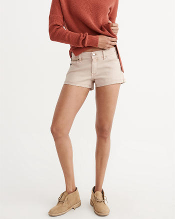 ANF Low-Rise Denim Shorts