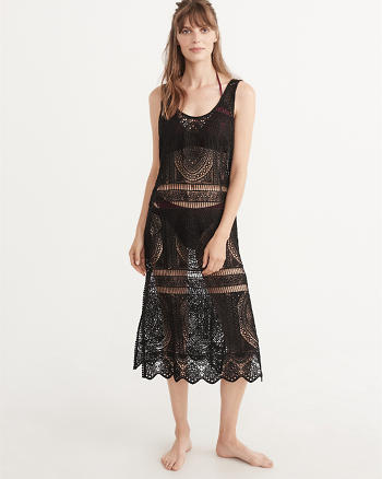 ANF Midi Lace Cover-Up
