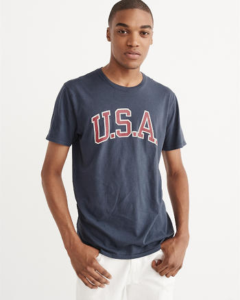 ANF U.S.A. Graphic Tee