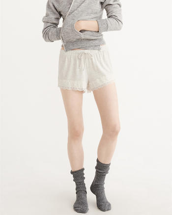 ANF Lace Trim Shorts