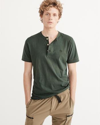 ANF Garment Dye Icon Henley