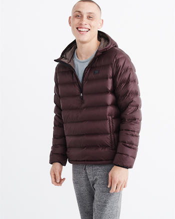 ANF Pullover Hooded Puffer