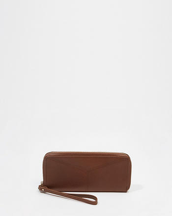 ANF Leather Zip Wallet