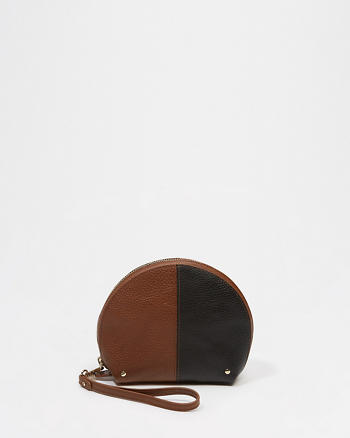 ANF Leather Pouch Wristlet
