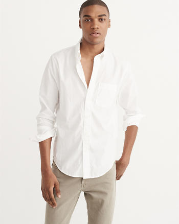ANF Poplin Icon Shirt