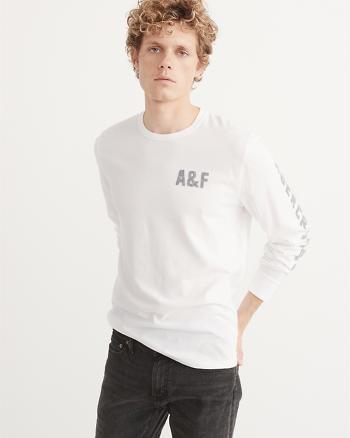 ANF Legacy Logo Long-Sleeve Tee