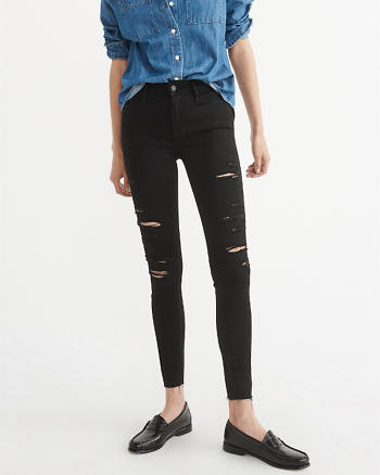 ANF Low-Rise Super Skinny Jeans