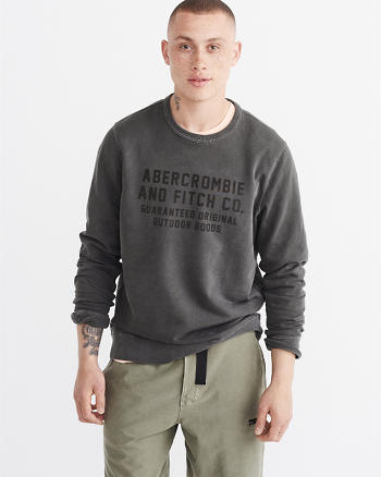 ANF Garment Dye Fleece Pullover