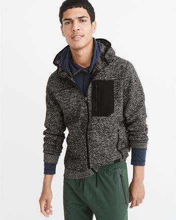 ANF Sport Sweater Fleece Jacket