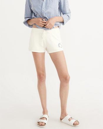 ANF Cozy Logo Shorts