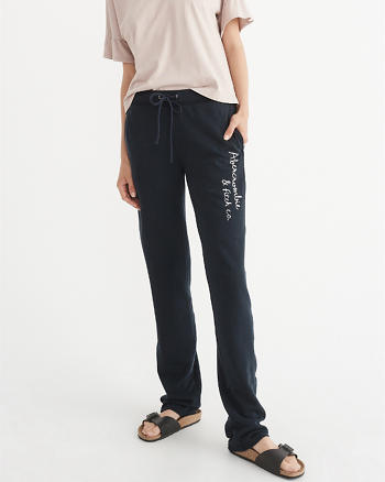 ANF Slim Logo Sweatpants