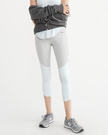 ANF Mesh Capri Leggings