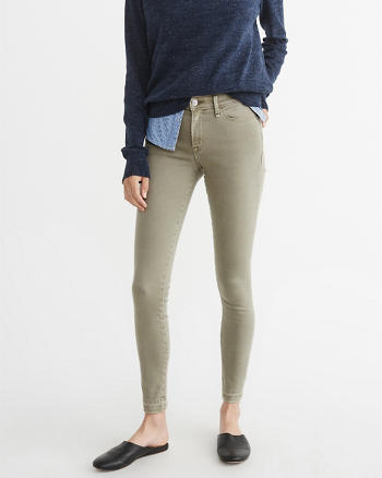 ANF Low-Rise Super Skinny