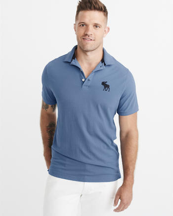 ANF Big Icon Stretch Polo