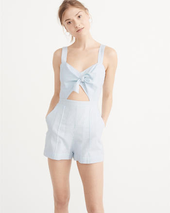 ANF Knot Front Romper