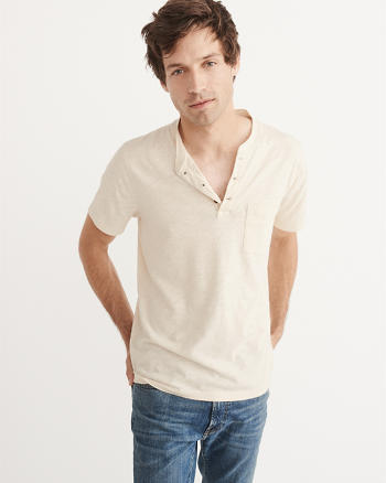 ANF Pocket Henley