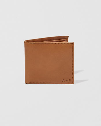 ANF Coin Pocket Leather Wallet