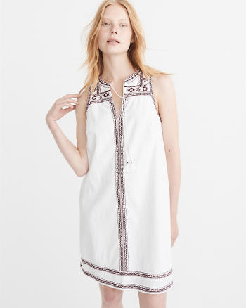 ANF Embroidered Dress