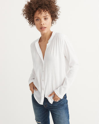 ANF Garment Dye Shirt