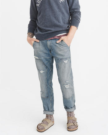 ANF Straight Carpenter Jeans