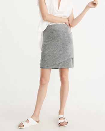 ANF Cozy Wrap Skirt
