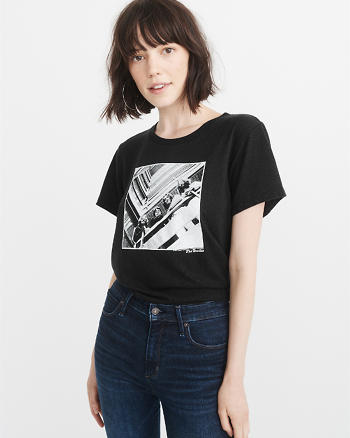 ANF Graphic Band Tee