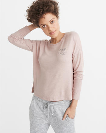 ANF Long-Sleeve Cozy Tee