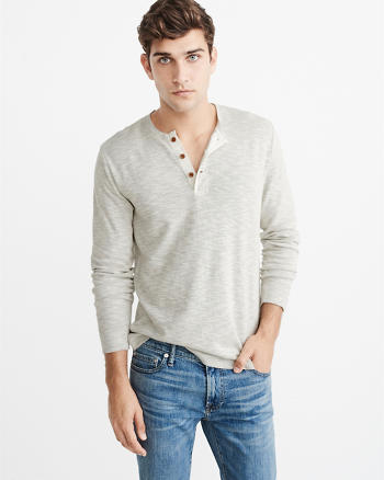 ANF Long-Sleeve Henley