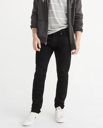 ANF Stretch Selvedge Straight Jeans