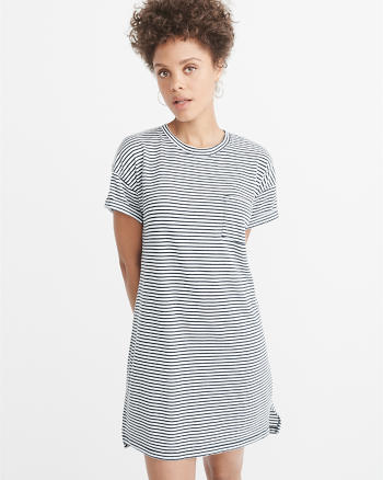 ANF Pocket Tee Dress
