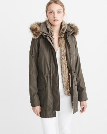ANF 3-in-1 Military Parka