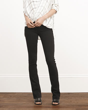 ANF Mid Rise Boot Jeans