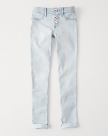 kids pull-on jean leggings