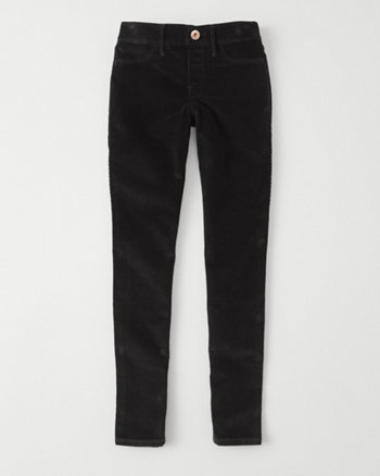 kids corduroy pull-on jean leggings