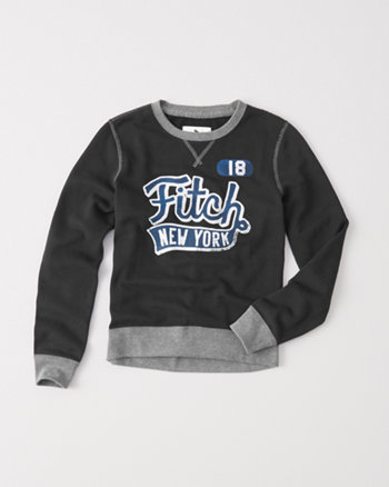 kids classic fleece crew sweatshirt