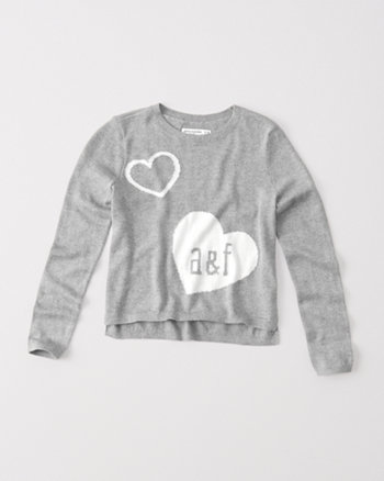 kids graphic pullover sweater