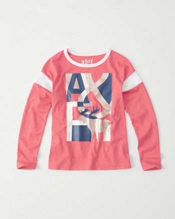 kids sporty graphic tee