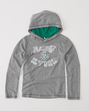 kids classic graphic hoodie