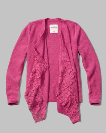 kids open blanket sweater