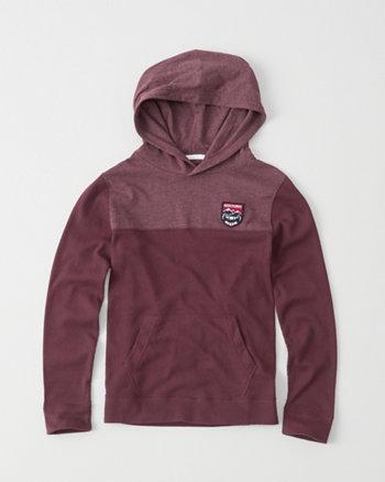 kids colorblock hoodie