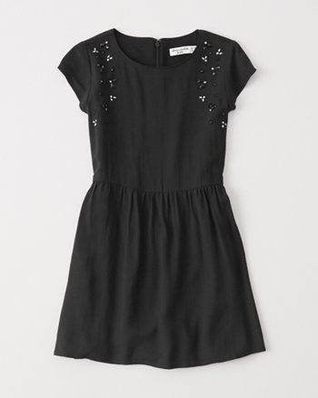 kids shine dress
