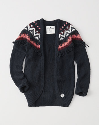 kids cocoon open cardigan