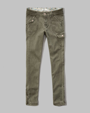 kids skinny cargo pants